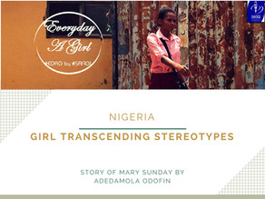 NIGERIA: GIRL TRANSCENDING STEREOTYPES