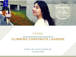 CHINA: CLIMBING CORPORATE LADDERS