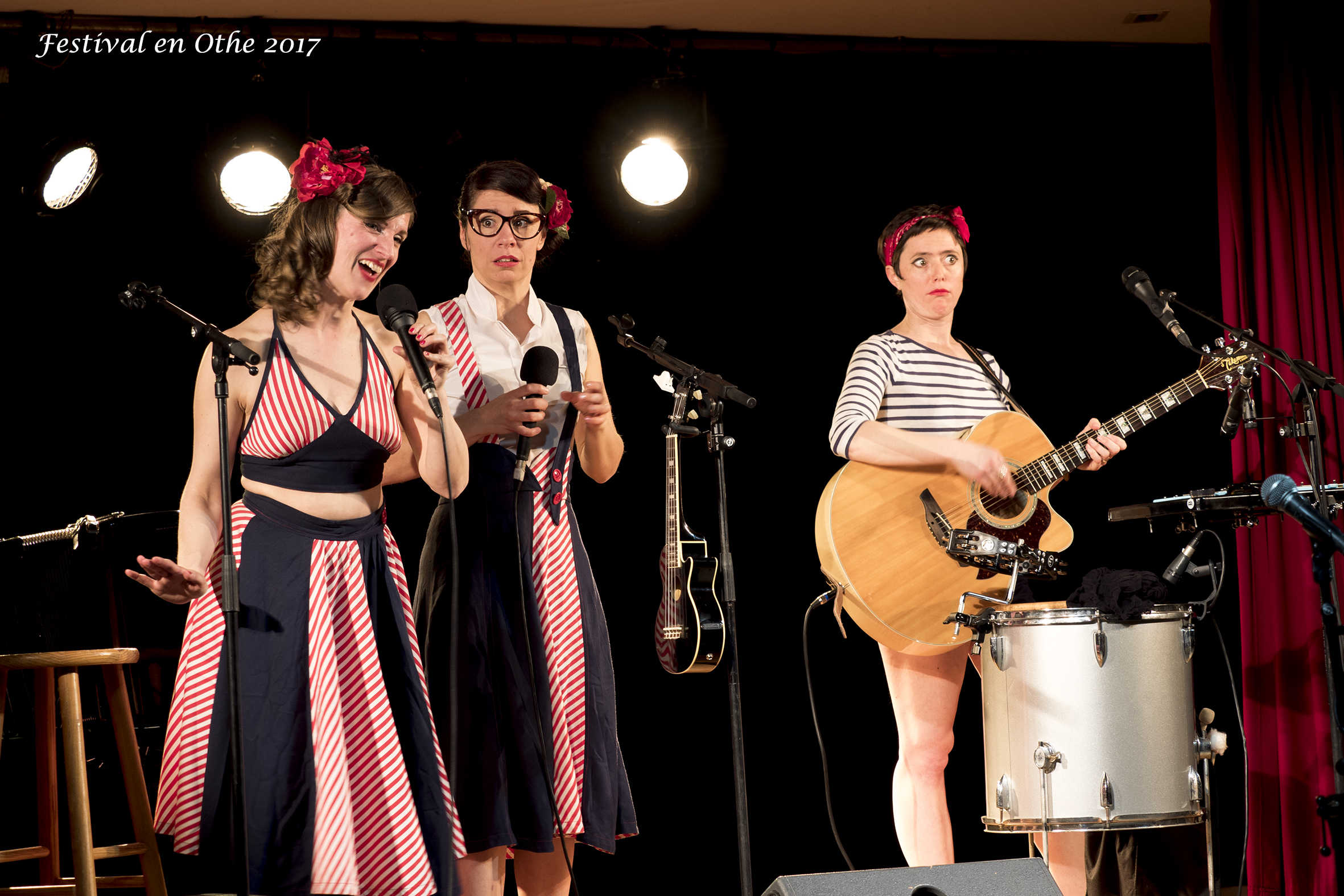 concert des Swingirls à Palis