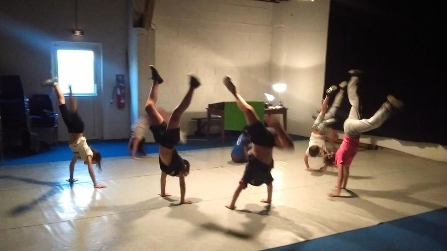 Atelier Hip-Hop au Chaudron 2016