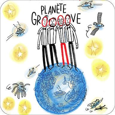 « Planète Groove » par le groupe GIMICK