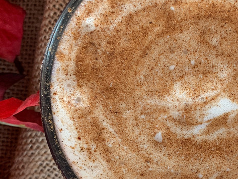 Whole30 Pumpkin Spice Latte with Benefits