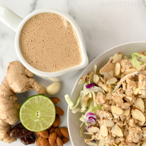 Thai Almond Butter Dressing (Vegan, Paleo, Whole30 & Gluten Free)