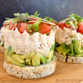 Deconstructed Tuna Sandwiches | Blue Harbor Fish Co. (Paleo & Gluten Free)