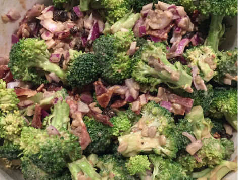 Broccoli Salad with Special Dressing