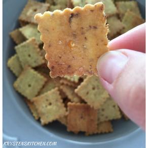 """Cheez-It"" Crackers (vegan)"