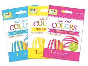Product: Color Kitchen Natural Food Coloring (& Frosting Recipe)