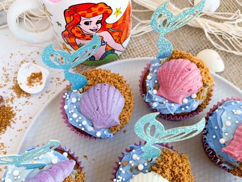 "Little Mermaid ""Ariel"" Cupcakes | Gluten Free & Dairy Free"