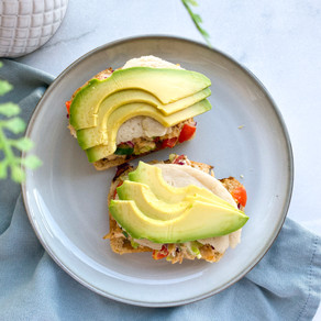 Open-Faced Tuna Melts | Dairy Free & Gluten Free