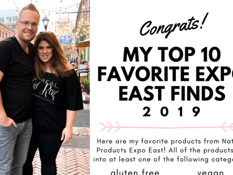 Top 10 Natural Products Expo East Finds (2019)