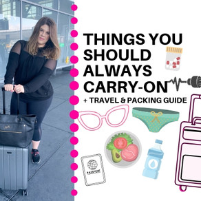 7 Things You Should Always Carry-On + Chester Luggage Review