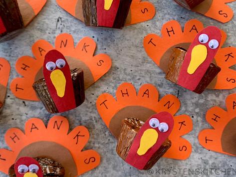 DIY Chocolate Thanksgiving Turkeys