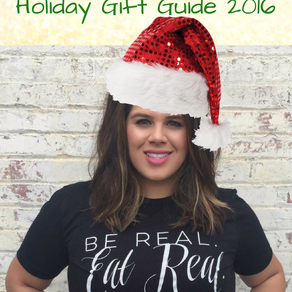Holiday Gift Guide 2016 - For the Foodie & the Beauty