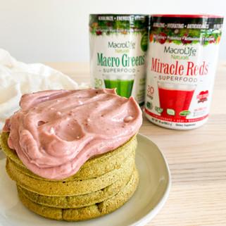 SUPER Red & Green Waffle Recipe | MacroLife Naturals