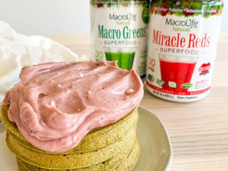 SUPER Red & Green Waffle Recipe   MacroLife Naturals