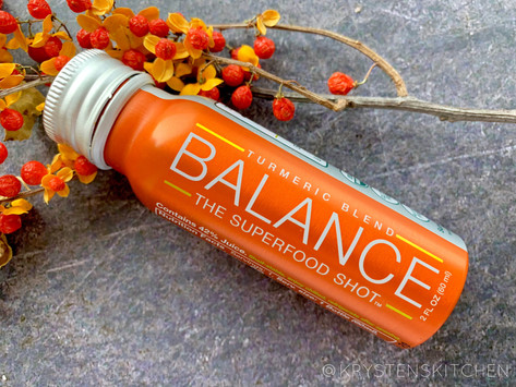 Balance: The Superfood Shot Turmeric Blend from Life Equals