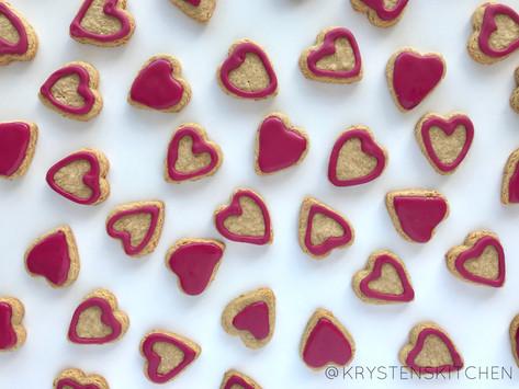 No Sugar - Sugar Cookies + Two Ingredient Frosting