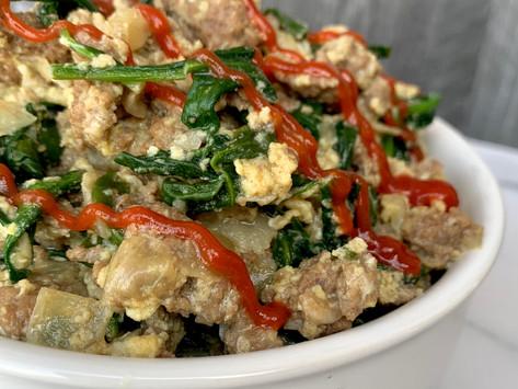 Krysten's Joe's Special | A Real San Francisco Treat - Whole 30, Gluten Free & Paleo