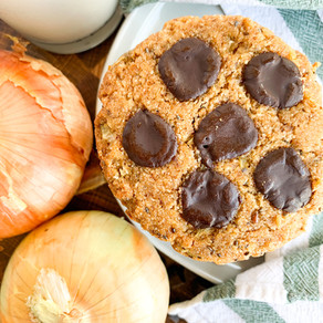 Onion Chocolate Chip Cookies (Vidalia Onions)   Paleo, Vegan & Gluten Free
