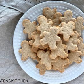 """Gingerbread """"Shortbread"""" Men Cookies"""