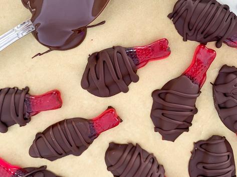 Chocolate Covered Sweet Fish | Gluten Free & Vegan