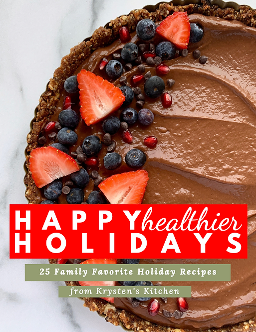 Happy Healthier Holidays