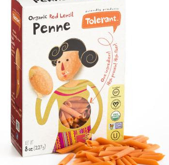 Tolerant Red Lentil Penne Pasta|Product Review