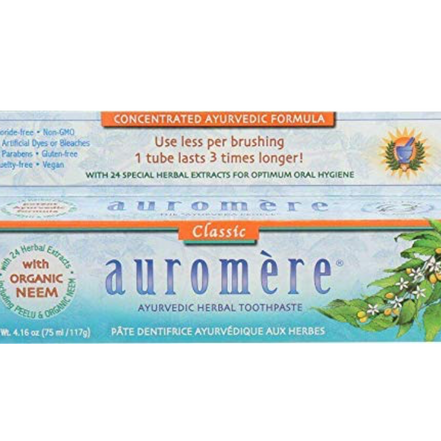 Auromere Classic Licorice Toothpaste