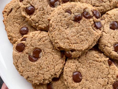 Tahini Chocolate Chip Cookies | Vegan & Paleo