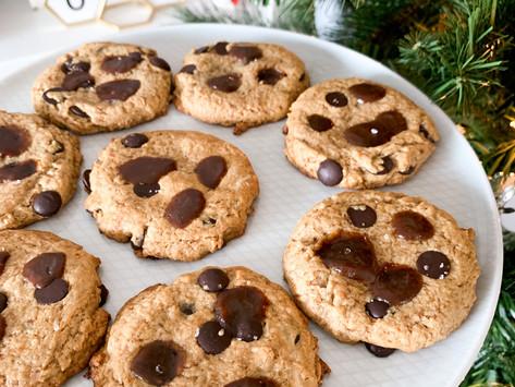 Salted Caramel Chocolate Chip Cookies {Paleo, Gluten Free, Dairy Free}