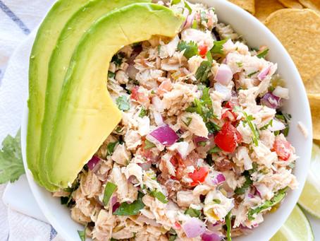 Easy Tuna Ceviche (Gluten Free & Paleo)
