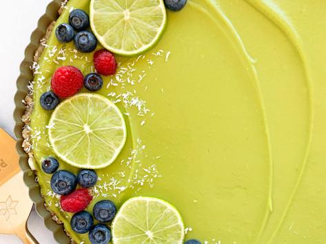 Key Lime Tart (Raw, Paleo, Vegan + Gluten Free)