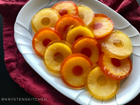Festive Pineapple Rings