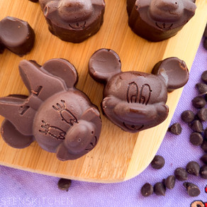 Easy Chocolate Mickey Truffles (2 Ingredients) | Top 8 Free