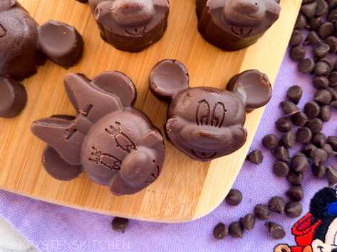 Easy Chocolate Mickey Truffles (2 Ingredients) | Top 8 Free