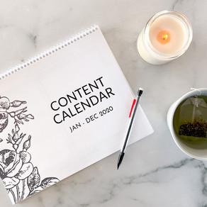 6 Benefits of Having a Content Calendar — FREE CONTENT CALENDAR!