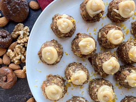 Figgy Pudding Balls | Raw, Vegan & Gluten Free