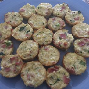 Cauliflower & Egg Breakfast Mini-Muffins