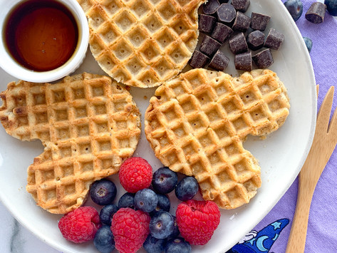 How To Make Mickey Waffles Without A Mickey Waffle Iron | OH BOY!