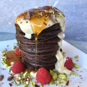 Red Velvet Pancakes | Gluten Free & Paleo