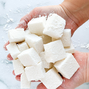 Salted Caramel Marshmallows   Paleo, Keto, Dairy Free, Low Carb