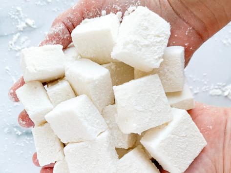 Salted Caramel Marshmallows | Paleo, Keto, Dairy Free, Low Carb