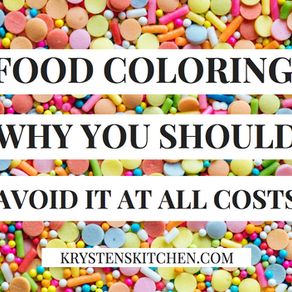 Artificial Food Coloring: Why You Should Avoid It At All Costs