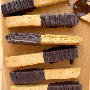 The Best Paleo Almond Biscotti