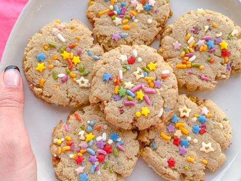Hygge Sprinkle Cookies (Paleo-ish | Gluten Free | Vegan Option)