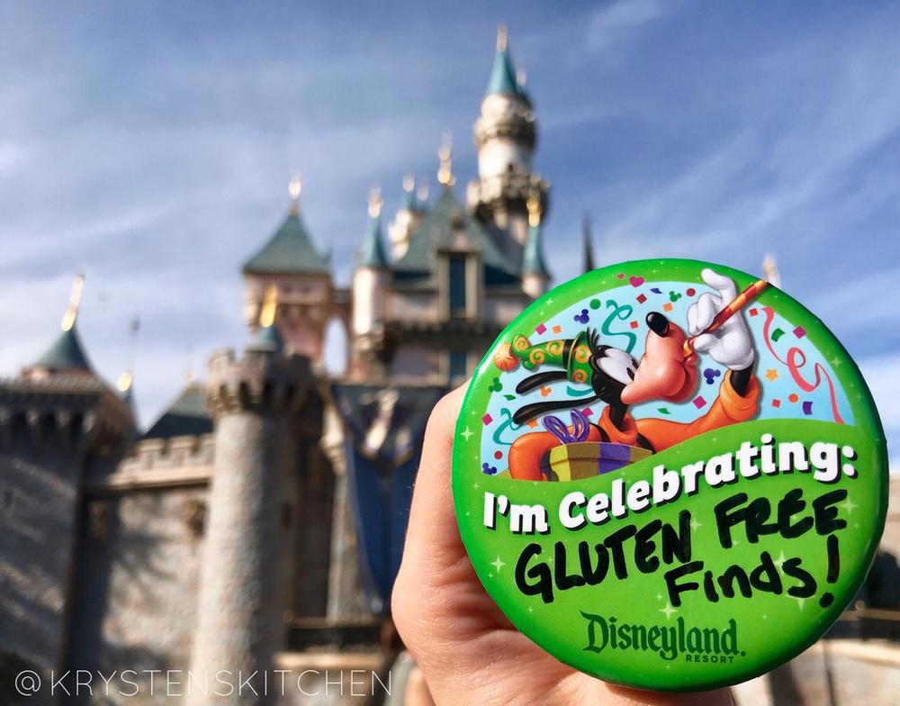 Eating Gluten Free At Disneyland