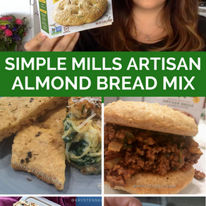 Product: Simple Mills Artisan Bread Almond Flour Mix