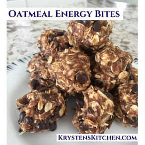 Oatmeal Energy Bites (No Bake)