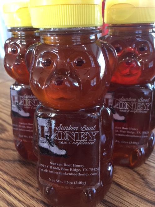 12 oz Wildflower Honey