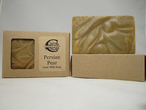 Persian Pear Goat Milk Soap